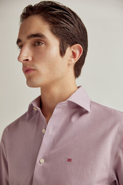 Pedro del Hierro Camisa de vestir tech-non iron estructura tailored Red