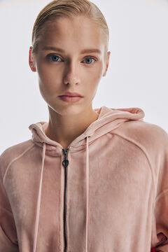 Pedro del Hierro Oversize wide collar jacket Pink