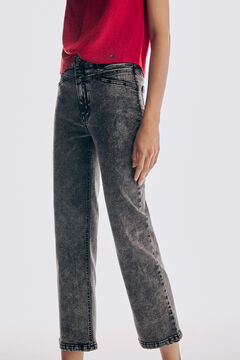 Pedro del Hierro Straight fit LYCRA® jeans Grey