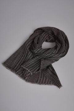 Pedro del Hierro Prince of Wales check scarf Grey