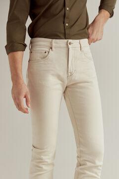 Pedro del Hierro Ecru slim fit jeans Ecru