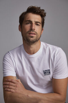 Pedro del Hierro PdH logo t-shirt White