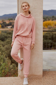 Pedro del Hierro Soft feel jogging bottoms Pink