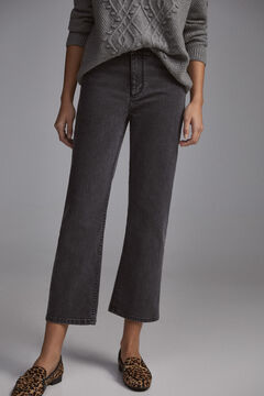Pedro del Hierro Straight fit Lycra® jeans Grey