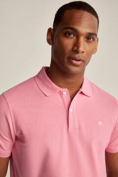 Pedro del Hierro Essential short-sleeved polo shirt Pink