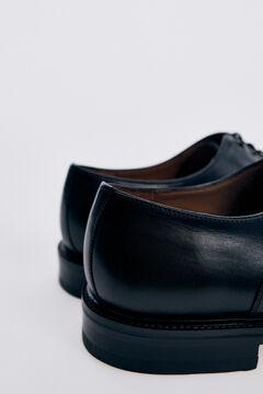 Pedro del Hierro Lace-up leather shoe Black