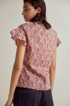 Pedro del Hierro Liberty print blouse Beige