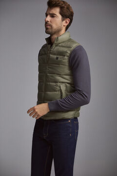 Pedro del Hierro Ultralight quilted gilet Grey