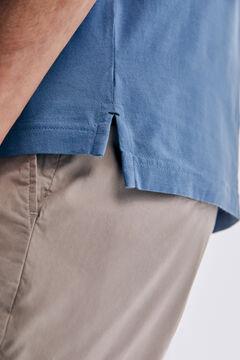 Pedro del Hierro Basic short sleeve t-shirt Burgundy