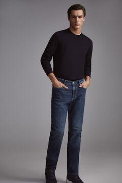 Pedro del Hierro Jeans premium flex classic lavagem escura Azul