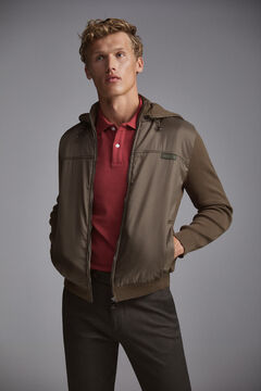 Pedro del Hierro Zipped jacket Grey