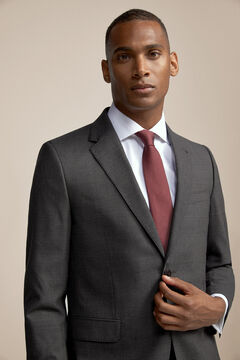 Pedro del Hierro Tailored fit suit blazer Grey