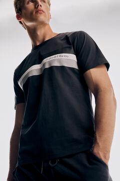 Pedro del Hierro Logo fantasy t-shirt  Grey
