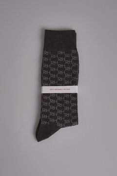 Pedro del Hierro Multi-logo socks Grey