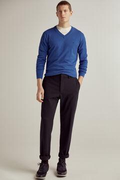 Pedro del Hierro V-neck jumper Blue