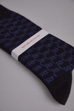 Pedro del Hierro Multi-logo socks Blue