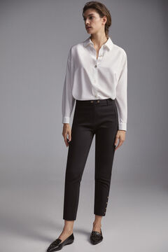 Pedro del Hierro Technical trousers Black