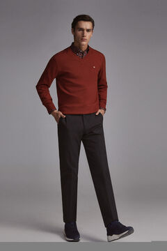 Pedro del Hierro V-neck jumper Red