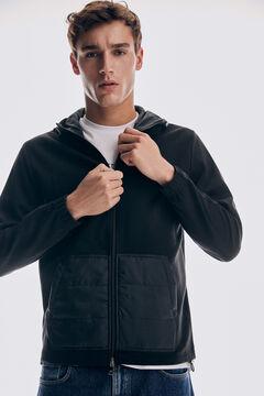 Pedro del Hierro Hooded sweatshirt Black