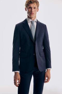 Pedro del Hierro Plain slim fit non-iron shirt White