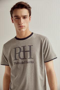 Pedro del Hierro Pijama de punto Gris