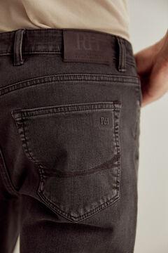 Pedro del Hierro Black regular fit Premium Flex jeans Black