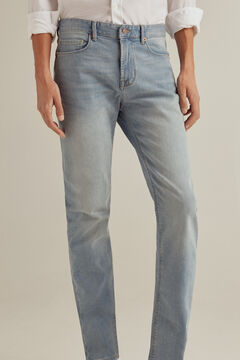 Pedro del Hierro Slim fit light wash jeans Blue