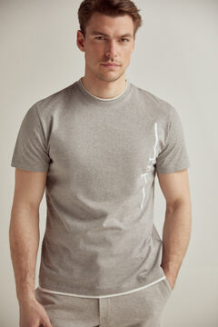 Pedro del Hierro Short-sleeved t-shirt Grey