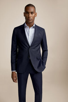 Pedro del Hierro Blue slim fit blazer Blue