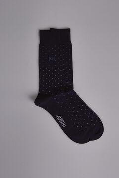 Pedro del Hierro Polka-dot socks Blue