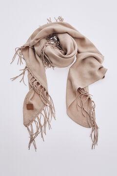 Pedro del Hierro Fringed scarf Grey