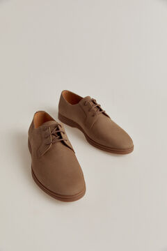 Pedro del Hierro Lace-up rubber-soled shoes Brown