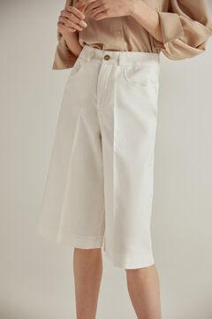 Pedro del Hierro 39% organic cotton shorts Beige