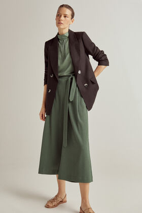 Pedro del Hierro Pareo trousers with lace Green