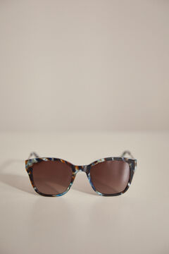 Pedro del Hierro Patterned colour sunglasses Blue