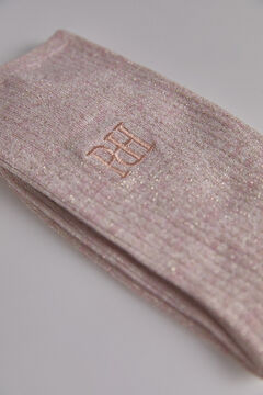 Pedro del Hierro Lurex sock Pink
