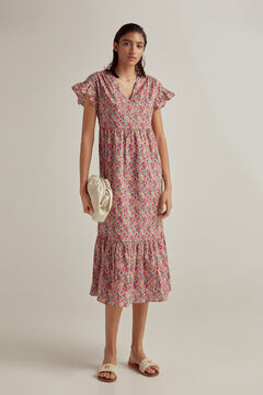 Pedro del Hierro Liberty print dress Beige