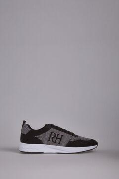 Pedro del Hierro Sneaker piel piso goma Negro