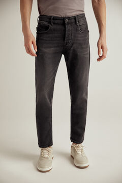 Pedro del Hierro Pantalón vaquero Authentic fit lavado negro Black