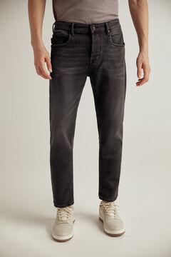 Pedro del Hierro Jeans authentic fit lavagem preta Preto