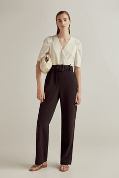 Pedro del Hierro Two-tone jumpsuit Black