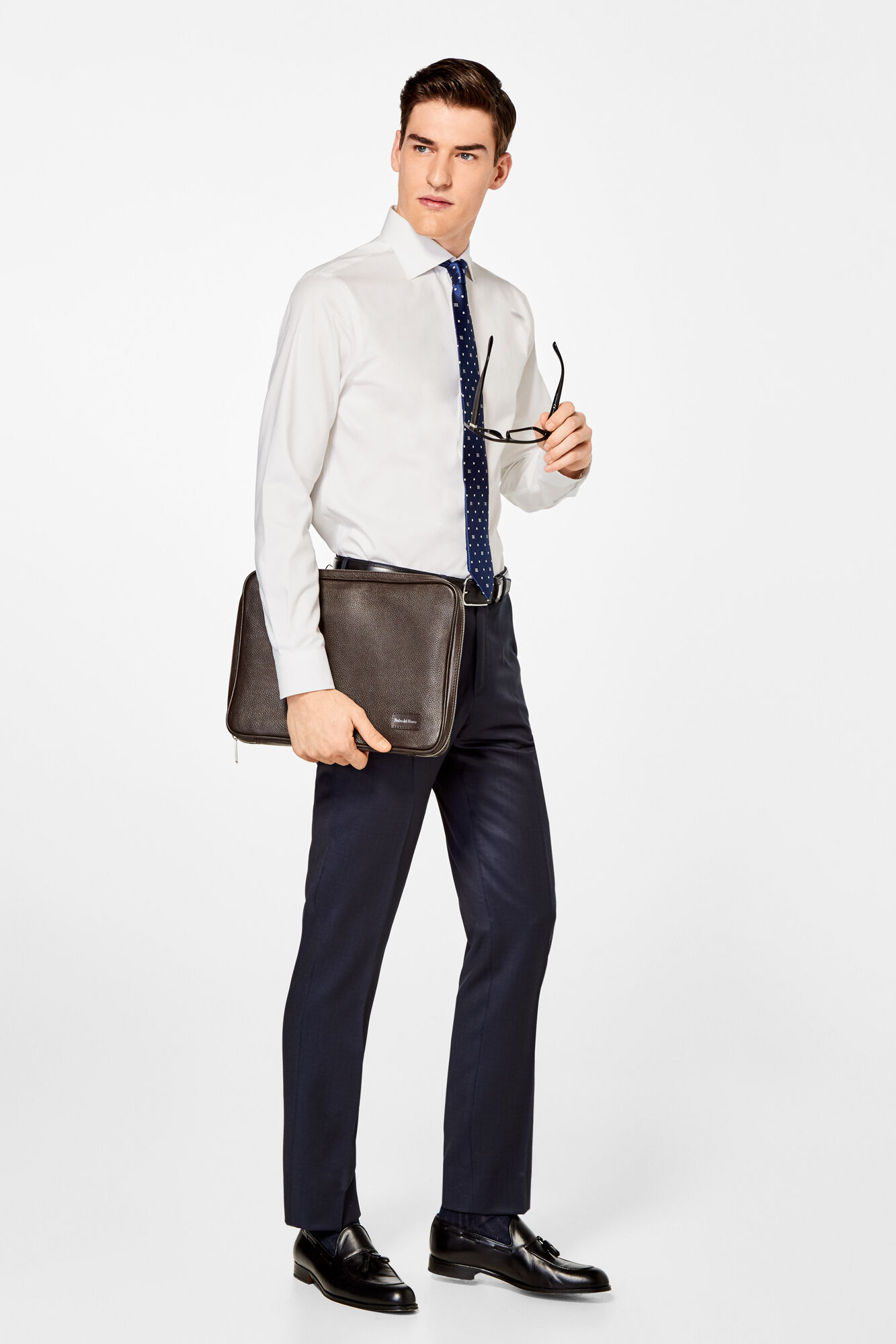 Plain Tailored Dress Shirt Shirts Pedro Del Hierro Man Woman