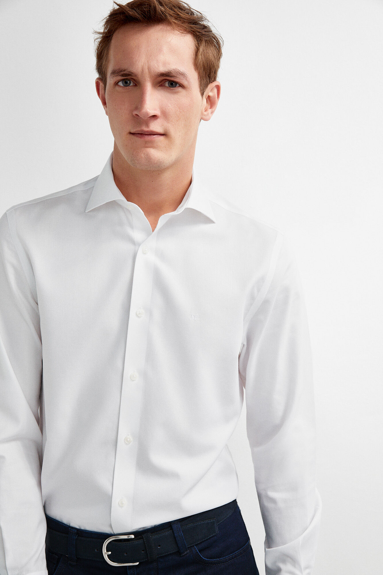 59f9e4f9613d88 Ladies Plain White Dress Shirt – EDGE Engineering and Consulting Limited