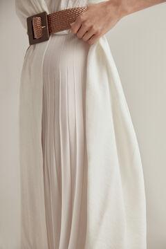 Pedro del Hierro V-neck dress White