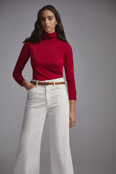 Pedro del Hierro Essential turtleneck jumper Red