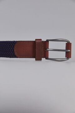 Pedro del Hierro Cinturón trenzado textil Azul