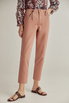 Pedro del Hierro Slouchy fit trousers Red