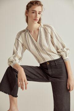 Pedro del Hierro Dry black® seam-free palazzo jeans Black