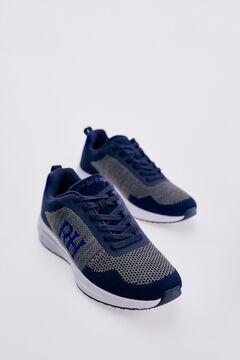 Pedro del Hierro Sneaker textil reciclada Azul