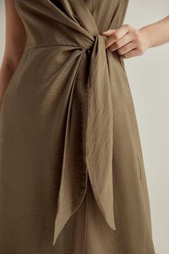 Pedro del Hierro Wrap shirt dress Grey
